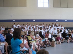 Fifth Grade Sings to Parents
